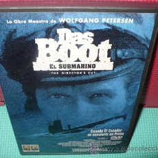 Cine: DAS BOOT DVD EL SUBMARINO WOLFGAN PETERSEN . Lote 34982537