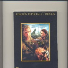 Cine: DVD TROYA. EDICION ESPECIAL 2 DISCOS. NUEVO.. Lote 35019249