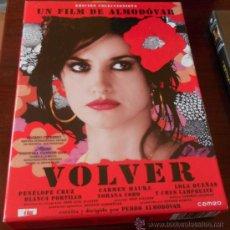Cine: DVD --- VOLVER (EDICIÓN COLECCIONISTA) --- DE PEDRO ALMODOVAR. CON PENELOPE CRUZ Y CARMEN MAURA. Lote 35189857
