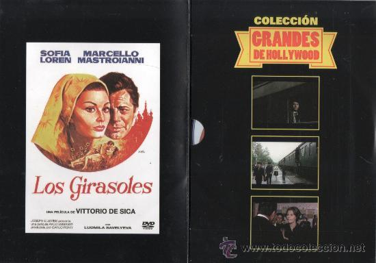 Cine: LOS GIRASOLES (1969) de VITTORIO DE SICA, con SOFIA LOREN, MARCELLO MASTROIANNI (NUEVA) - Foto 3 - 35201255