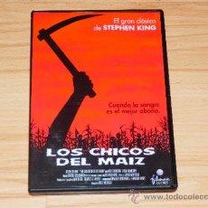 Cine: LOS CHICOS DEL MAIZ , FRITZ KIERSCH , STEPHEN KING , DVD TERROR B. Lote 194946076