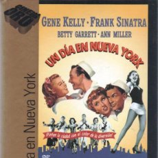Cine: UN DIA EN NUEVA YORK (1949) DE STANLEY DONEN, GENE KELLY CON FRANK SINATRA, GENE KELLY (PRECINTADA). Lote 35340058