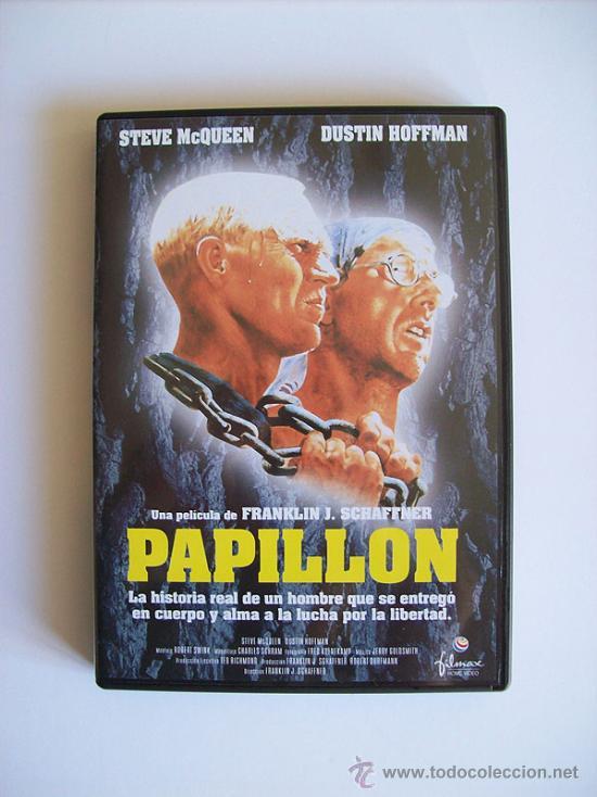 PAPILLON – STEVE MQUEEN – DUSTIN HOFFMAN ( DVD ) (Cine - Películas - DVD)