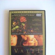 Cine: VATEL – GÉRARD DEPARDIEU – UMA THURMAN ( DVD ). Lote 35444506