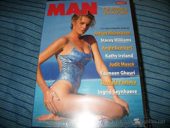 DVD MAN - TOP MODELS EN LA PLAYA - 1 - EROTICO - JUDIT MASCO - DANIELA PESTOVA - KATHY IRELAND - CON (Cine - Películas - DVD)