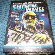 Cine: DVD SHOCK WAXES - PETER CUSHING - TERROR - PRECINTADA - ZOMBIES NAZIS. Lote 35538899