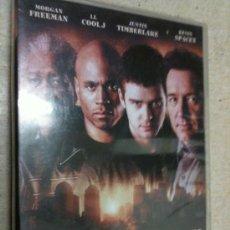 Cine: CIUDAD SIN LEY [DVD] MORGAN FREEMAN (ACTOR), LL COOL J (ACTOR), DAVID J BURKE (DIR NUEVO PRECINTADO. Lote 35647202