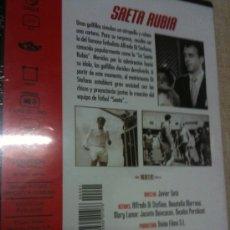 Cine: DVD SAETA RUBIA- ALFREDO DI STEFANO-NUEVO. Lote 35694560
