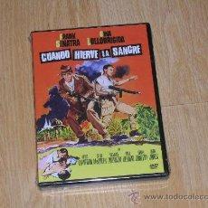 Cine: CUANDO HIERVE LA SANGRE DVD STEVE MCQUEEN NUEVA PRECINTADA. Lote 110259907