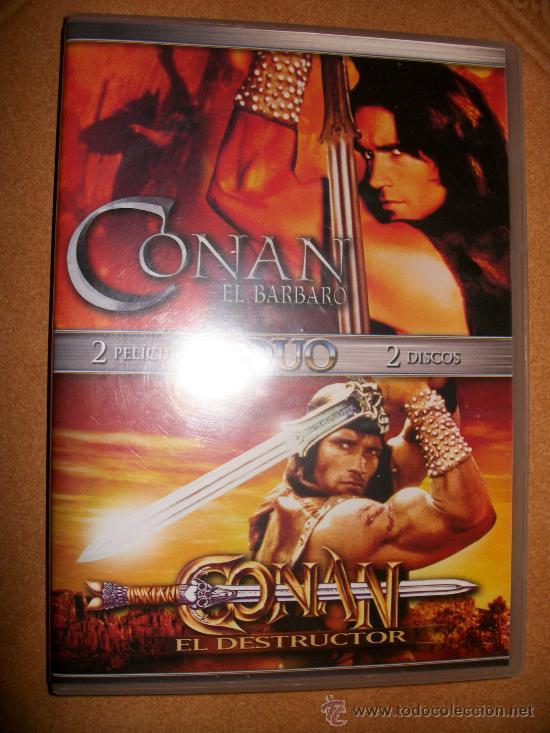 2 DVD CONAN EL BARBARO + CONAN EL DESTRUCTOR - (Cine - Películas - DVD)