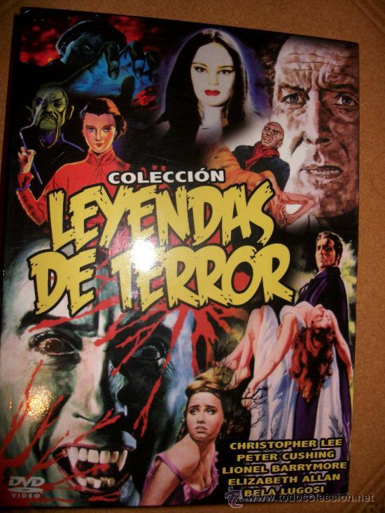 5 DVD COLECCIÓN LEYENDAS DE TERROR (Cine - Películas - DVD)