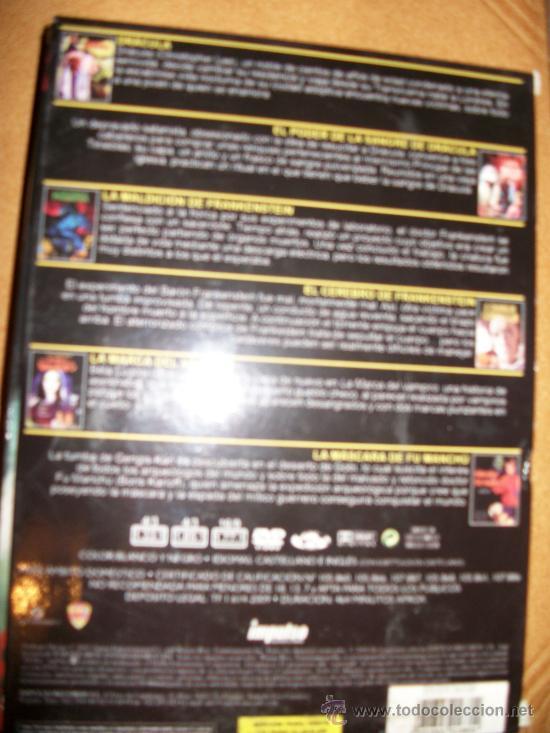 Cine: 5 DVD COLECCIÓN LEYENDAS DE TERROR - Foto 2 - 35703545