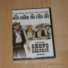 Cinema: GRUPO SALVAJE DVD DE SAM PECKINPAH NUEVA PRECINTADA. Lote 210059597