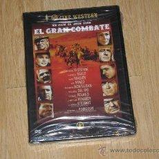 Cine: EL GRAN COMBATE DVD DE JOHN FORD JAMES STEWART NUEVA PRECINTADA. Lote 180038985