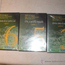 Cine: 3 DVDS - MEMORIA DE UN PASADO RECIENTE - MEMORIA DE LA GUERRA CIVIL - 1934, EL AÑO DE LA REVOLUCION-. Lote 35783648