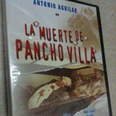 Cine: LA MUERTE DE PANCHO VILLA [DVD] ANTONIO AGUILAR (ACTOR), FLOR SILVESTRE (ACTOR),NUEVO PRECINTADO. Lote 36065085
