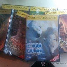 Cine: LOTE 6 DVD ORIGINALES NUEVOS / DOCUMENTALES NATIONAL GEOGRAPHIC / VARIOS TITULOS. Lote 36039172