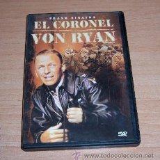 Cine: DVD EL CORONEL VON RYAN - SEGUNDA GUERRA MUNDIAL. Lote 36081385
