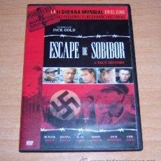 Cine: DVD ESCAPE DE SOBIBOR - SEGUNDA GUERRA MUNDIAL. Lote 191118728