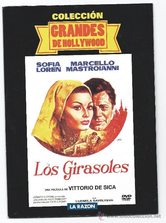 4412-LOS GIRASOLES- SOFIA LOREN-NUEVA-ENVASE DE CARTON (Cine - Películas - DVD)