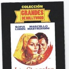 Cine: 4412-LOS GIRASOLES- SOFIA LOREN-NUEVA-ENVASE DE CARTON. Lote 36236890