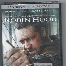 Cine: 4420-ROBIN HOOD (VERSION DEL DIRECTOR)- RUSSEL CROWE-P R E C I N T A D A. Lote 36237890