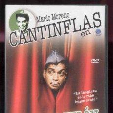 Cine: DVD -MARIO MORENO CANTINFLAS EN ABAJO EL TELON -. Lote 36307021