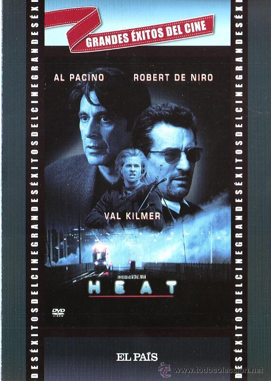 UXD GRANDES EXITOS DEL CINE - HEAT - DVD ACCION POLICIA INTRIGA AL PACINO NIRO KILMER MANN W0 (Cine - Películas - DVD)