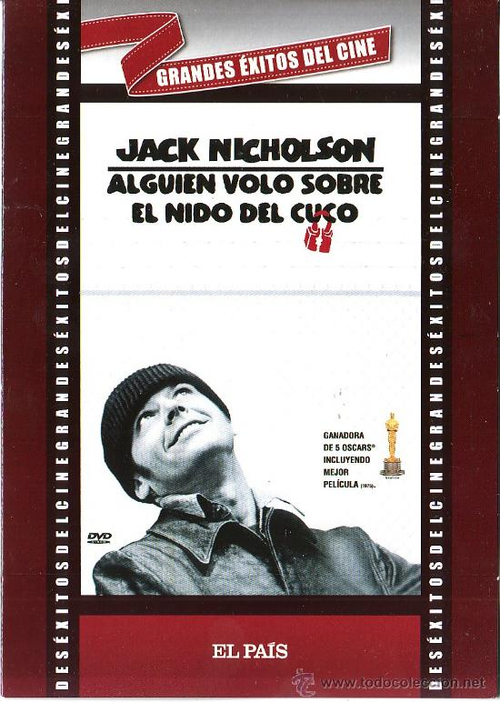 UXD GRANDES EXITOS DEL CINE - ALGUIEN VOLO SOBRE EL NIDO DEL CUCO DVD DRAMA PSIQIATRICO NICHOLSON (Cine - Películas - DVD)