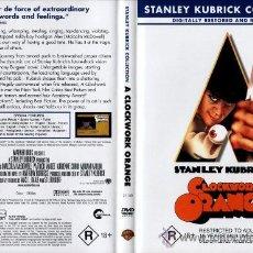Cine: A CLOCKWORK ORANGE DVD - LA NARANJA MECANICA DVD . Lote 36338040