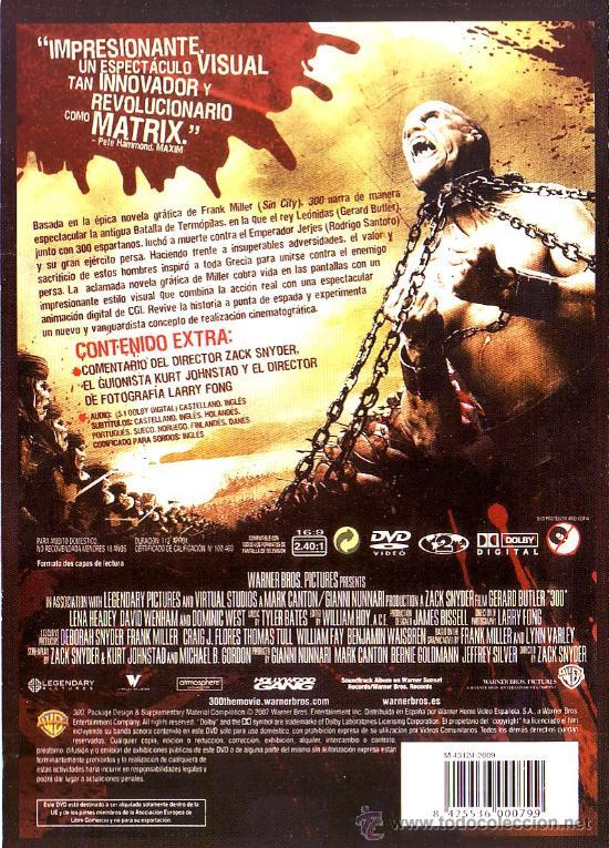 Cine: UXD GRANDES EXITOS DEL CINE - 300 PREPARADOS PARA LA GLORIA - DVD ACCION BELICO SNYDER BUTLER W0 - Foto 2 - 36344015