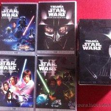 Cine: DVD-TRILOGIA STAR WARS-IV-V-VI-MATERIZADA DIGITALMENTE. Lote 36375809