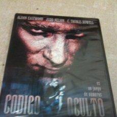 Cine: CÓDIGO OCULTO CLASIFICADO: UNKNOWN | FORMATO: DVD . Lote 36434962