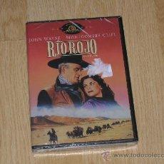 Cine: RIO ROJO DVD DE HOWARD HAWKS JOHN WAYNE NUEVA PRECINTADA. Lote 180038970