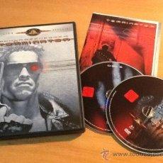 Cine: TERMINATOR EDICIÓN ESPECIAL SWARCHENEGGER 2 DISCOS DVD. Lote 36466634