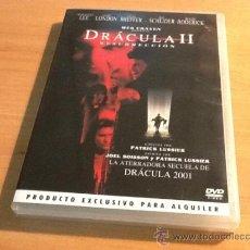 Cine: DRACULA II RESURRECCION 2 WES CRAVEN PELÍCULA EN DVD CINE DE TERROR. Lote 36466710