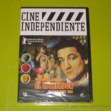 Cine: DVD.- EL ESTAFADOR - DINO RISI - VITTORIO GASSMAN - DESCATALOGADA - PRECINTADA. Lote 44247448