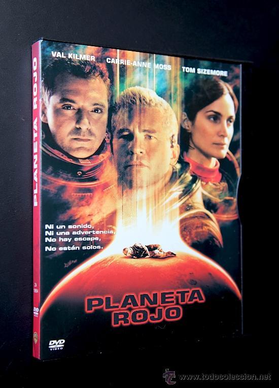 DVD - PLANETA ROJO - VAL KILMER - CARRIE ANNE MOSS - TOM SIZEMORE (Cine - Películas - DVD)