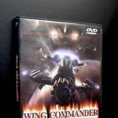 Cine: DVD - WING COMMANDER - FREDDIE PRINZE SAFFRON BURROWS MATTHEW LILLARD TCHEKY KARYO JÜRGEN. Lote 36610379