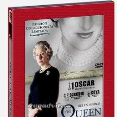 Cine: DVD ORIGINAL * THE QUEEN * (ED. COLECCIONISTA LIMITADA 2 DISCOS). DESCATALOGADO. PRECINTADO.. Lote 33063804