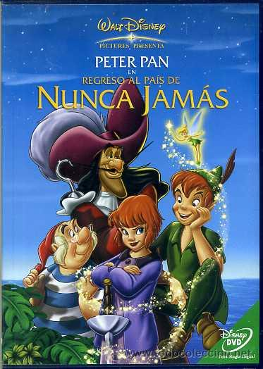 Dvd Peter Pan 2 Regreso A Nunca Jamas Disney Kaufen Filme Auf