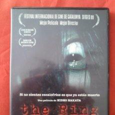 Cine: THE RING (DVD DESCATALOGADO). Lote 36742741