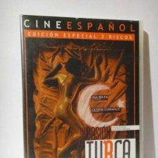Cine: LA PASION TURCA PELICULA DVD ANA BELEN LA DE FORTUNATA Y JACINTA DRAMA EROTICO EDICION. Lote 262483535
