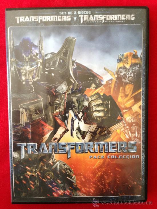 DVD DOBLE TRANSFORMERS (Cine - Películas - DVD)