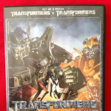 Cine: DVD DOBLE TRANSFORMERS. Lote 36799220