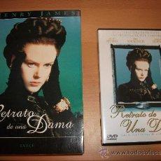 Cine: LOTE DE DVD + LIBRO: RETRATO DE UNA DAMA. Lote 36820838