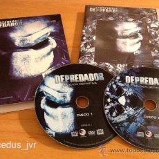 Cine: DEPREDADOR PREDATOR EDICIÓN DEFINITIVA PELÍCULA EN DVD CINE DE TERROR. Lote 36861763