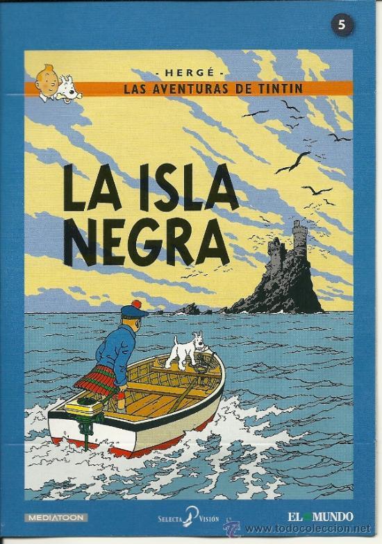 las aventuras de tintín. dvd. la isla negra. - Comprar