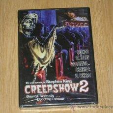 Cine: CREEPSHOW 2 DVD STEPHEN KING TERROR NUEVA PRECINTADA. Lote 179946962
