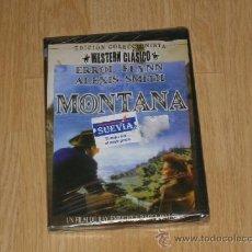 Cine: MONTANA EDICION COLECCIONISTA DVD ERROL FLYNN NUEVA PRECINTADA. Lote 269747623